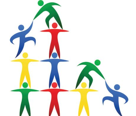 the importance of team building games for employees hr index rh hrindex net corporate team building clipart team building cartoons clipart